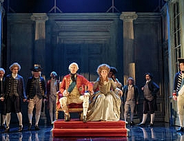 The Madness of King George III, Nottingham Playhouse, 5*, till 24th November, 5*****: Alan Geary
