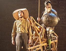 Don Quixote, Garrick (RSC), 4****: William Russell