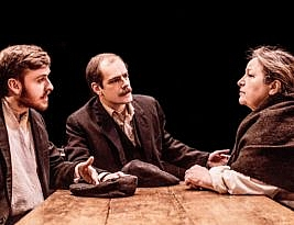 The Daughter-in-Law by D. H. Lawrence. Studio 1, the Arcola Theatre, London E5,  4****  William Russell