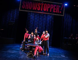 Showstopper! The improvised musical, The Other Palace, London SW1. 4**** William Russell