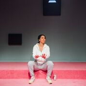 Superhoe by Nicole Lecky. Jerwood Upstairs, Royal Court, Sloane Square, London. 4**** William Russell