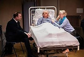My Brother's Keeper by Nigel Williams. The Playground Theatre, Latimer Road, London W10. 4**** William Russell