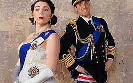 Crown Dual by Daniel Clarkson. The King's Head Theatre, London N1. 4**** William Russell