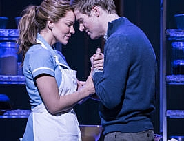 Waitress by Jessie Nelson & Sara Bareilles. The Adelphi, the Strand, London. 3*** William Russell