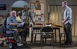 Downstate by Bruce Norris. The Dorfman, the National Theatre, London SE1. 5***** William Russell