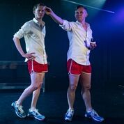 Tumulus by Christopher Adams. Soho Theatre Upstairs, 21 Dean Street, London W1. 2**. William Russell