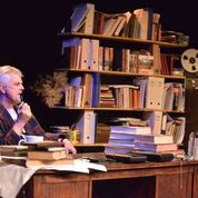 Tony's Last Tape by Andy Barrett. Omnibus Theatre, Clapham, SW4. 4**** William Russell