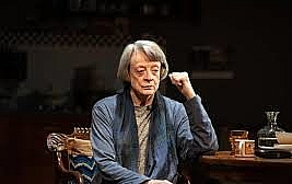 A German Life by Christopher Hampton. the Bridge Theatre, London. 5*****. William Russell