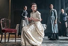 Rosmersholm by  Henrik Ibsen, The Duke of York's Theatre, St Martin's Lane, London WC2N. 4****. William Russell.