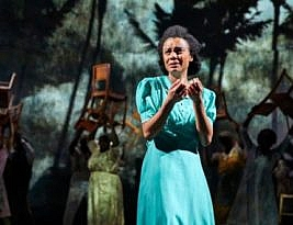 Small Island by Helen Edmundson based on the novel by Andrea Levy. National Theatre, London SE 19.  5*****. William Russell