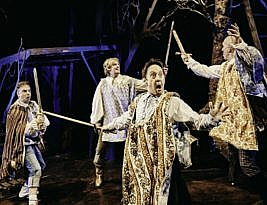 The Three Musketeers, Northcott Theatre, Exeter, 4****, Cormac Richards