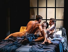 AFTERGLOW by S Asher Gelman. Southwark PLayhouse, London  SE1 6BD. 2**. William Russell