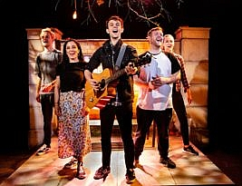 Fiver by Alex James Ellison & Tom Lees. Southwark Playhouse, London SE1 to 20 July. 3***. William Russell