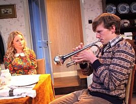 Go Bang Your Tambourine by Philip King. The Finborough Theatre, London SW10 to 31 August. 3***. William Russell.