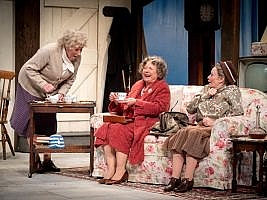 Murder, Margaret and Me by Philip Meeks. Theatre Royal, Windsor to 5 October and then on tour. 3***. William Russell