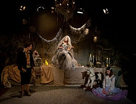 Great Expectations by Charles Dickens adapted by Lydia Vie. the Playground Theatre, Latimer Road, London W10 to 29 December 2019. 4****. William Russell