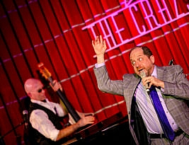 Off the Top with Jason Kravits. Crazy Coqs, 24 Sherwood Street, London W1 to 19 January 2020. 4****. William Russell.