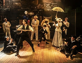 Rags -Book by Joseph Stein revised by David Thompson, Music by Charles Strouse, Lyrics by Stephen Scwartz. The Park Theatre, Clifton Terrace, London N4 to 8 February 2020. 2**. William Russell.