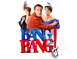 BANG BANG! by John Cleese, Exeter Northcott Theatre till 15 February 2020 & Tour, 3***, Cormac Richards