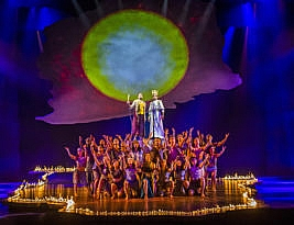 The Prince of Egypt. Music & Lyrics by Stephen Schwartz. Book by Philip Lazebnik. The Dominion Theatre, Tottenham Court Road, London W11. to  31 October 2020, 2**. William Russell