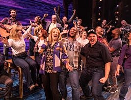Come From Away – book, music & lyrics by Irene Sankoff & David Hein. Phoenix Theatre, Charing Cross Road, London WC2 to 23 May 2020. 5*****. William Russell.