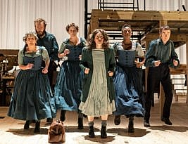 Jane Eyre: based on the novel by Charlotte Bronte: National Theatre at Home to 15th April 2020. 5*****. Mark Courtice