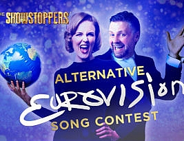 "The Alternative Eurovision Song Contest – 8pm Friday 15 May. ""Not to be missed"" – William Russell."