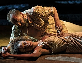 Antony and Cleopatra by William Shakespeare. National Theatre Live 7pm until May 13 2020. 4****. William Russell