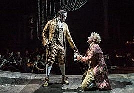 Amadeus by Peter Shaffer. National Theatre live until 22 July 2020. 4****. William Russell