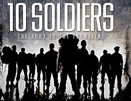 Ten Soldiers by Rosie Kay: Rosie Kay Dance Company on line, Part of Army at the Virtual Fringe 2020: Until 19th August 2020. *** Mark Courtice