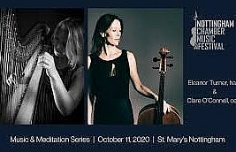 Eleanor Turner and Clare O'Connell. St Mary's Church, Nottingham. 11/10/20. 4****. William Ruff