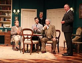 Spider's Web by Agatha Christie, Manor Pavilion Theatre – Sidmouth till 4 September and Tour, 4****, Cormac Richards