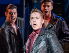 GREASE by Jim Jacobs & Warren Casey, Theatre Royal Plymouth till 7 August 2021 & Tour; 3***. Cormac Richard