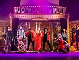 Wonderville, the Palace theatre, Shaftesbury Avenue for a season.      3***. William Russell